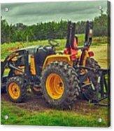 Farm Tractor Acrylic Print