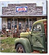 Farm Vehicle Acrylic Print