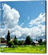 Farm Vista Acrylic Print