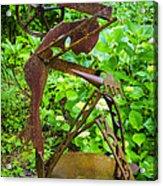 Farm Worker Acrylic Print
