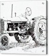 Farmall Acrylic Print
