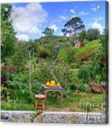 Farmer Maggot Garden Acrylic Print