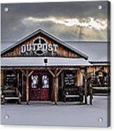 Farmers Inn Outpost Acrylic Print