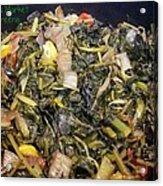 Market Mixed Greens Acrylic Print