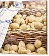 Farmers Potatoes Acrylic Print