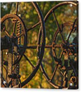 Farmers Tools Of Old Acrylic Print