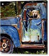 Farmhand Acrylic Print by Molly Poole