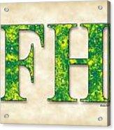 Farmhouse - Parchment Acrylic Print