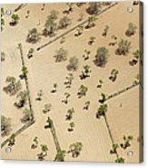 Farming Fields, Sant Antoni De Portmany Acrylic Print