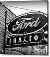 Farming - Ford Tractors Acrylic Print