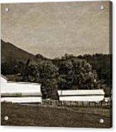 Farming The Shenandoah  Acrylic Print