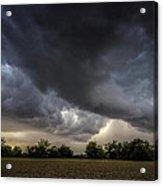 Farmland Storm Acrylic Print