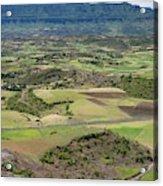 Farmlands Near Lalibela Acrylic Print