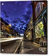 Farnham West St By Night Acrylic Print