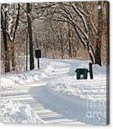 Farnsworth Park Path Acrylic Print