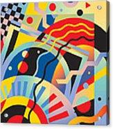Fascinating Rhythm 5 Acrylic Print