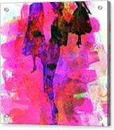 Fashion Models 1 Acrylic Print