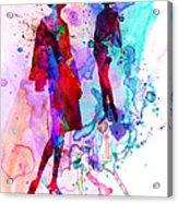 Fashion Models 8 Acrylic Print