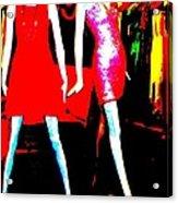 Fashion Statement Acrylic Print