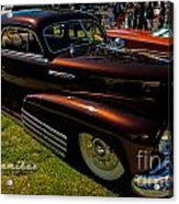 Fastback In Kandy Acrylic Print