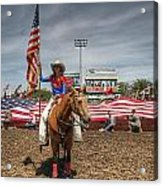 Fastest Rodeo On Earth Acrylic Print