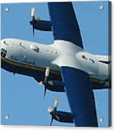 Fat Albert Acrylic Print by Samuel Sheats
