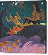 Fatata Te Miti  Acrylic Print