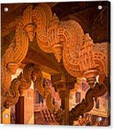 Fatehpur Sikri Detail Acrylic Print