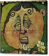 Fathead Poster Acrylic Print