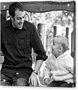 Father And Son II Acrylic Print