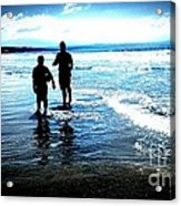 Father And Son Acrylic Print