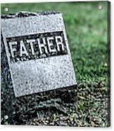 Father Acrylic Print