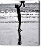 Fatherhood Acrylic Print