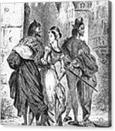 Faust: Mephistopheles 1828 Acrylic Print
