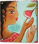 Favorite Bud by Elaine Jackson Acrylic Print