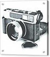 Favorite Camera Acrylic Print by Robert Mollett