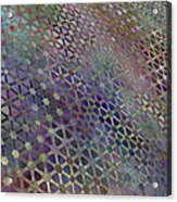 Favorite Old Quilt 3 Acrylic Print