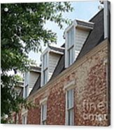 Fayetteville Brick House Acrylic Print by Kevin Croitz