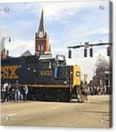 Fayetteville Christmas Parade Acrylic Print