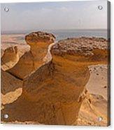 Fayum Desert Scene Acrylic Print