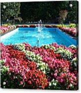 Fbi Academy Fountain Acrylic Print