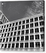 Fbi Building Side View Acrylic Print by Olivier Le Queinec