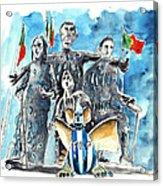 Fcporto In Vila Cha Acrylic Print