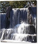 Fdr Memorial - Washington Dc - 01131 Acrylic Print