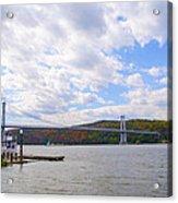 Fdr Mid Hudson Bridge - Poughkeepsie Ny Acrylic Print