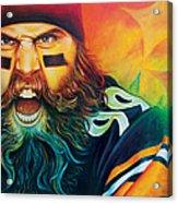 Fear Da Beard Acrylic Print by Scott Spillman