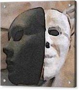 Fear Unmasked Acrylic Print