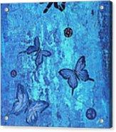 Fearless Butterflies 2011 Acrylic Print