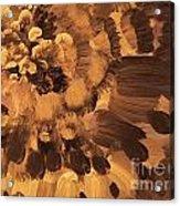 Feather Flower 2 Acrylic Print
