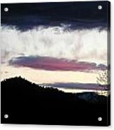 Feather In The Sky Acrylic Print